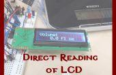 Direktes Lesen des LCD-Displays mit Allzweck IO