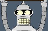 Wie erstelle ich eine Maske Bender (Futurama)...