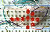 Eine einfache und kostengünstige LED Pfeil