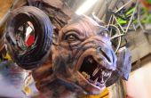 The Witcher 3 Full-Scale Chort/Fiend Skulptur in DAS Ton