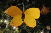 Wie erstelle ich eine Schmetterling Ornament aus einer Cola-Flasche