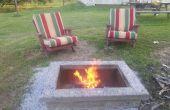 Bauen eine ultimative Outdoor Feuerstelle komplett mit benutzerdefinierten Kappe Stein: Die ManPit