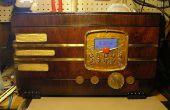 Vintage Wi-Fi-Internet-Radio