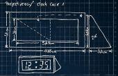 Billige Desktop led Uhr