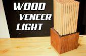 DIY-Holzfurnier Licht