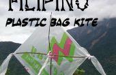 Philippinische Plastiktüte Kite