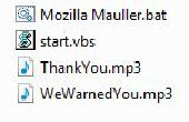 Mozilla Firefox Virus Streich
