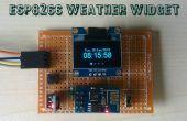 Esp8266 Wetter Widget