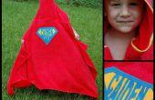 Superheld Kapuzen Handtuch