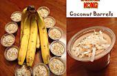 Esel Kong Coconut Fässer (Jello Shots)