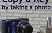 Erstellen Sie eine Kopie des Schlüssels aus einem Foto