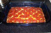 Low-Carb, high Protein Pizza mit hausgemachter Sauce
