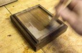 Lebensmittelrechtlich unbedenklich Holz-Finish mit Schellack (+ Biene Wachs / Walnuss Öl)