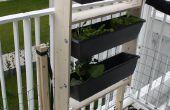 Effiziente Gartenarbeit Rack Platz