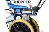 Self balancing Raleigh Chopper Elektroroller inspiriert