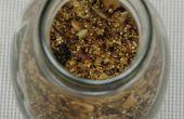 Nussiger Quinoa-Hafer-Müsli! Vegane & glutenfrei!