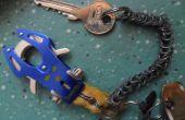 Robuste & Flexible Metallkette (für Schlüssel)