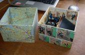Benutzerdefinierte Aufbewahrungsboxen für CD-Regal machen