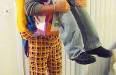 """""""Klasse Clown Lieferung"""" Halloween Illusion Kostüm"""