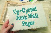 Up-Zyklus Junk-Mail zu Artisan Papier
