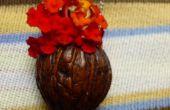 Mini Flower Pot Anhänger Spielens Ring.
