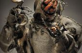 Scary Kürbis Monster Jack o' Lantern - SFX Make-up Tutorial