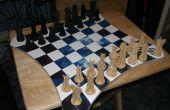 Magnetische Wand-Schach mit benutzerdefinierten Board