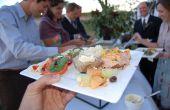 Suche nach der perfekten Hochzeit Caterer