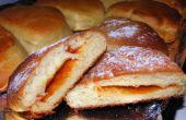 Altmodische Hagebutte Krapfen gebacken