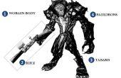 Heftige Worgen / Werwolf Jäger (Ranger) Kostüm für junge