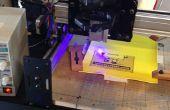 CNC-Laser für Drucken Bilder und Gravur - Shapeoko 2 basierend