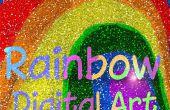 Digitalen Regenbogen - wie man von Grund auf neu einfärben