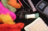Nadel-Filzen leitfähige Gewebe