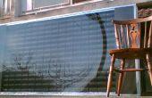 DIY Solar-Panels - Lufterhitzer gemacht pop Dosen