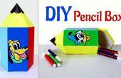 Spaß beim Basteln für Kinder: Wie erstelle ich Bleistift Stiftebox geformt.