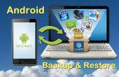 Gewusst wie: sichern und wiederherstellen Android Handy/Tablet