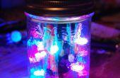 LED-Disco-Licht im Glas!