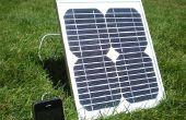 Wie ich eine Solar iPhone Ladegerät für unter $50 gebaut.