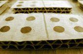Wie erstelle ich Karton Dominos