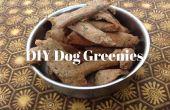 Hausgemachte Hund Greenies für frischen Atem und saubere Zähne