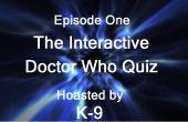 Interaktive Doctor Who Computer Quiz.