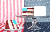 Amerikanische Flagge Kuchen