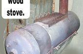 Konvertieren einer Warmwasser-Heizung in ein Holzofen