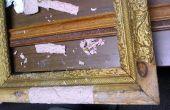 Restaurierung von einem Zustandverkauf zu finden... Eine 100 Jahre alte antike Bilderrahmen.