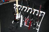 PVC-Gitarre für Guitar Hero und Rock Band stehen