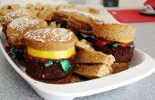 Süße Burger Cupcakes und Pommes frites!