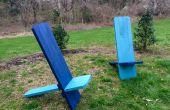 Wikinger-Stuhl von 4, 2x4s