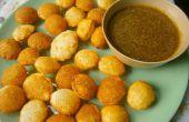 Pani Puri/Gol Gappa (Indian Street Food) - der einfachste Weg!