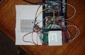 Arduino 8 x 8 RGB LED Matrix Controller mit 4 Schieberegister und Temperatursensor