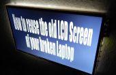 Wie Sie die alten LCD-Bildschirm Ihres defekten Notebooks wiederverwenden